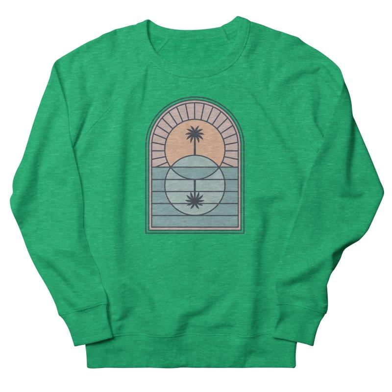 Venn Island Men's French Terry Sweatshirt by thepapercrane's shop