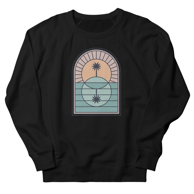 Venn Island Men's French Terry Sweatshirt by thepapercrane's shop