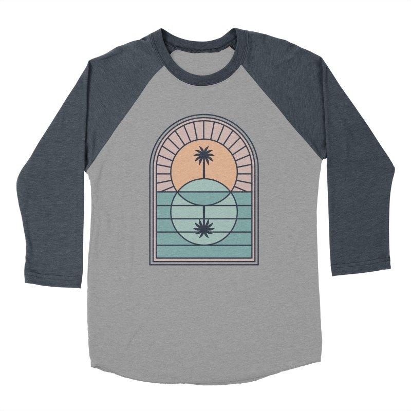 Venn Island Women's Baseball Triblend Longsleeve T-Shirt by thepapercrane's shop