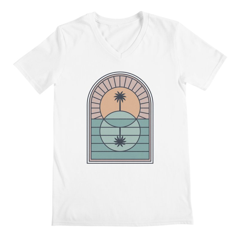 Venn Island Men's V-Neck by thepapercrane's shop