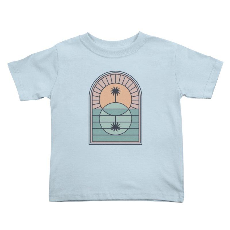 Venn Island Kids Toddler T-Shirt by thepapercrane's shop