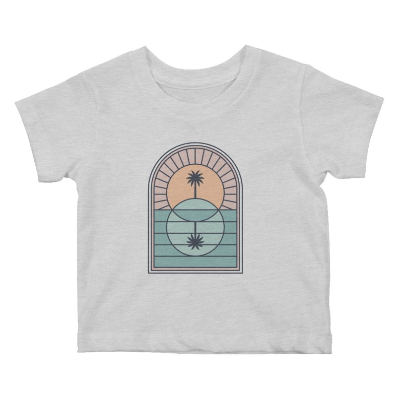 Venn Island Kids Baby T-Shirt by thepapercrane's shop