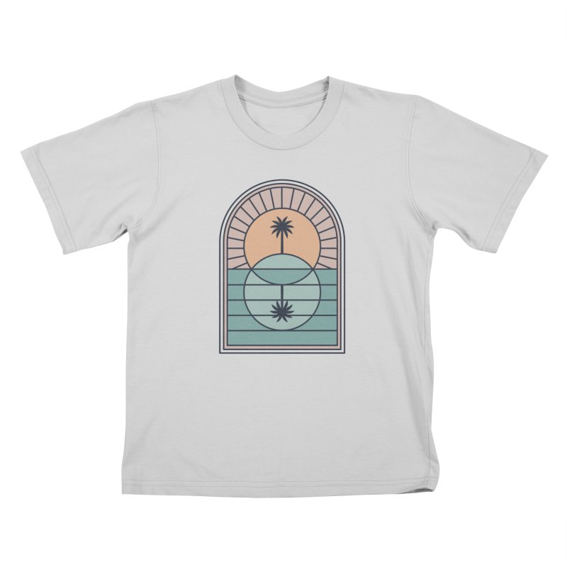 Venn Island Kids T-Shirt by thepapercrane's shop
