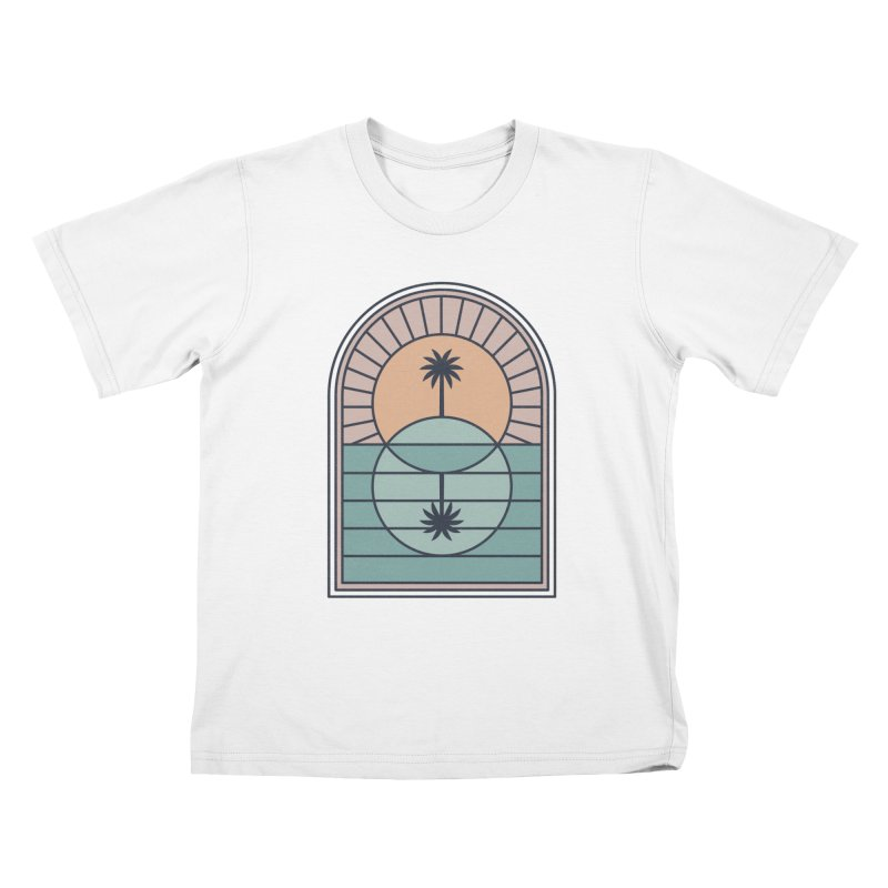 Venn Island Kids T-Shirt by thepapercrane's shop
