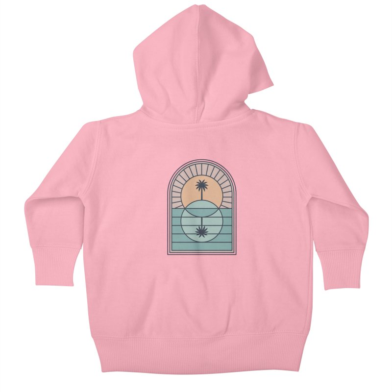 Venn Island Kids Baby Zip-Up Hoody by thepapercrane's shop