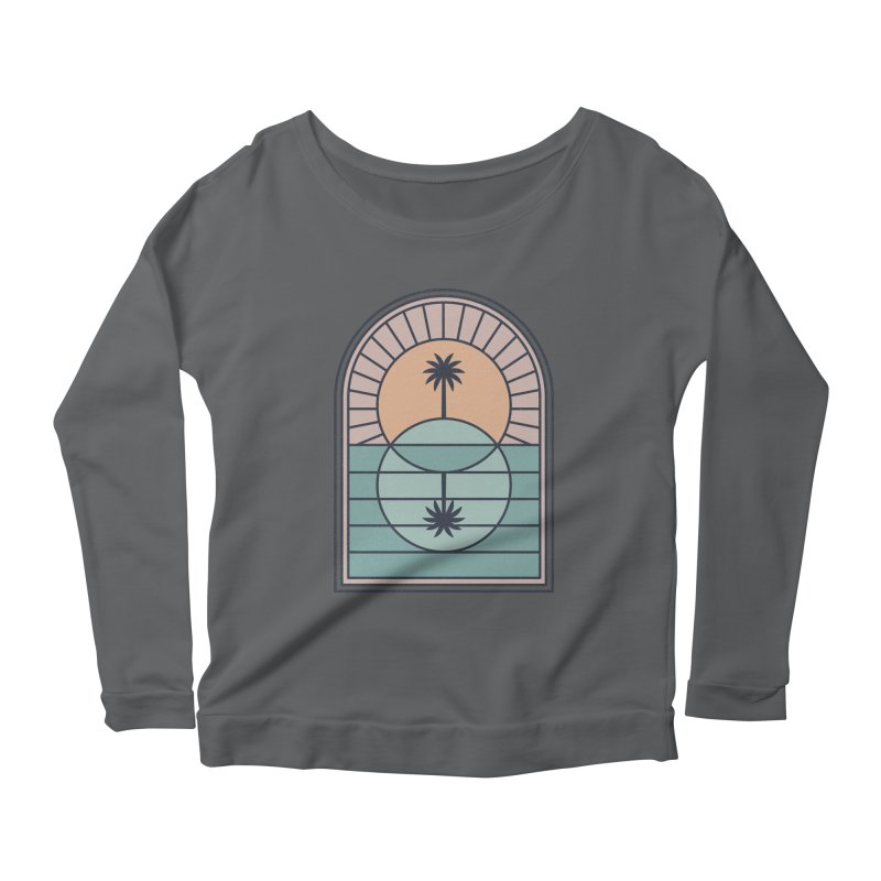 Venn Island Women's Longsleeve T-Shirt by thepapercrane's shop