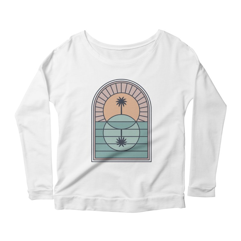 Venn Island Women's Scoop Neck Longsleeve T-Shirt by thepapercrane's shop