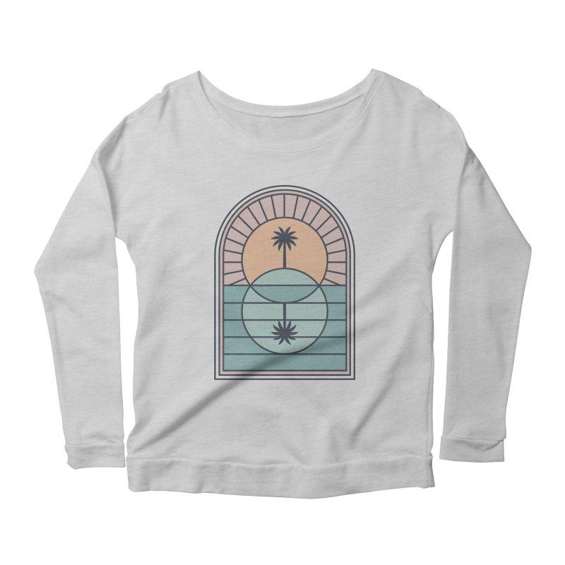 Venn Island Women's Scoop Neck Longsleeve T-Shirt by thepapercrane's shop