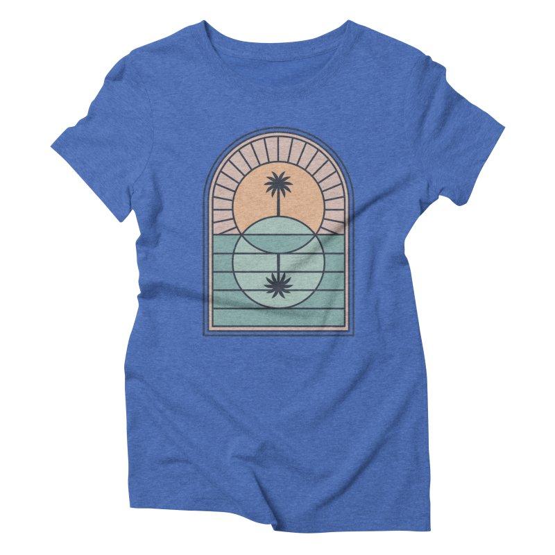 Venn Island Women's Triblend T-Shirt by thepapercrane's shop