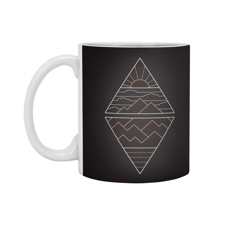 Earth, Air, Fire & Water Accessories Standard Mug by thepapercrane's shop