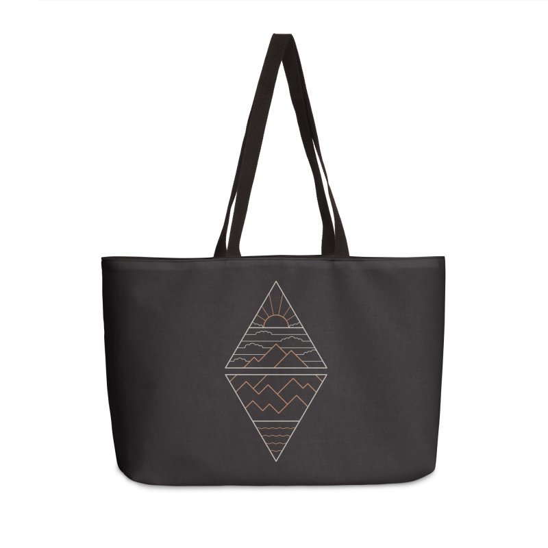 Earth, Air, Fire & Water Accessories Weekender Bag Bag by thepapercrane's shop