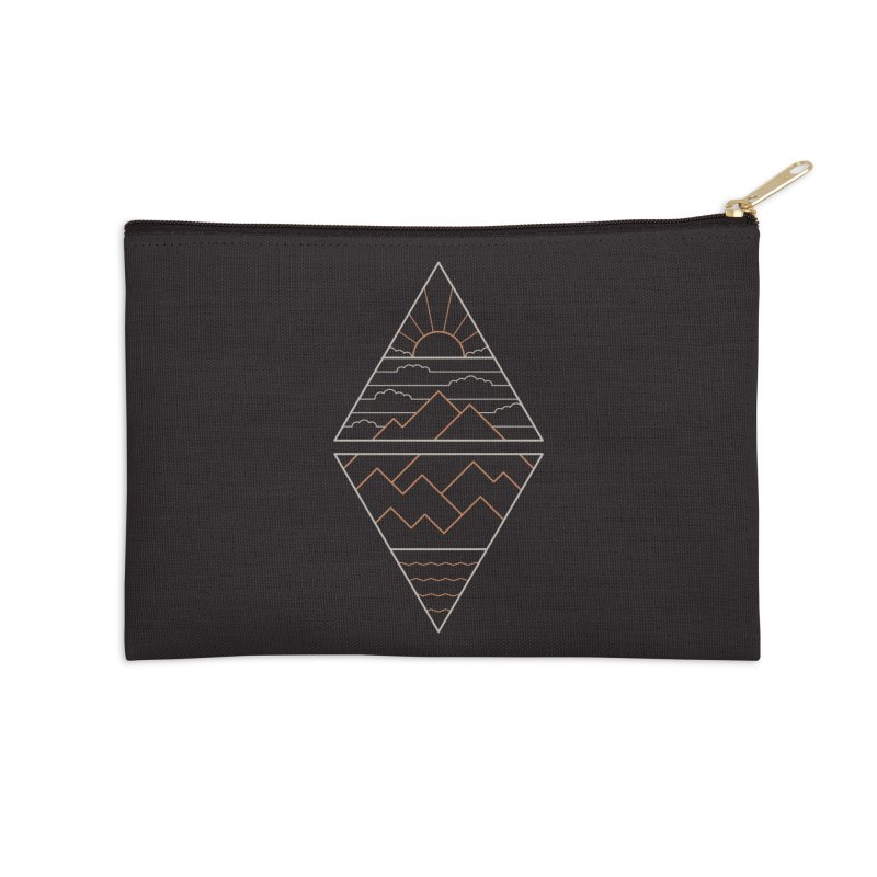 Earth, Air, Fire & Water Accessories Zip Pouch by thepapercrane's shop