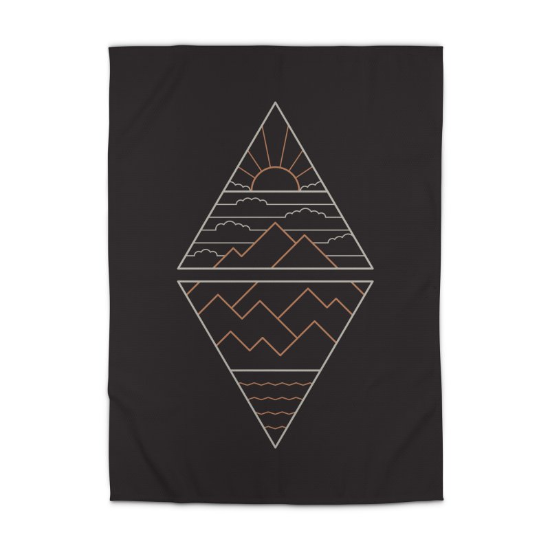 Earth, Air, Fire & Water Home Rug by thepapercrane's shop