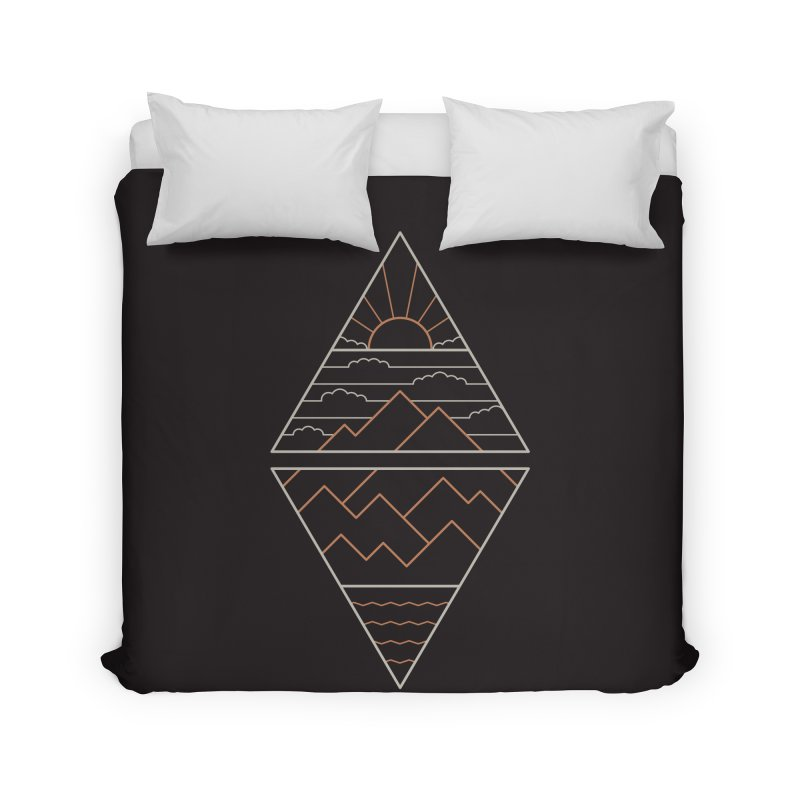 Earth, Air, Fire & Water Home Duvet by thepapercrane's shop
