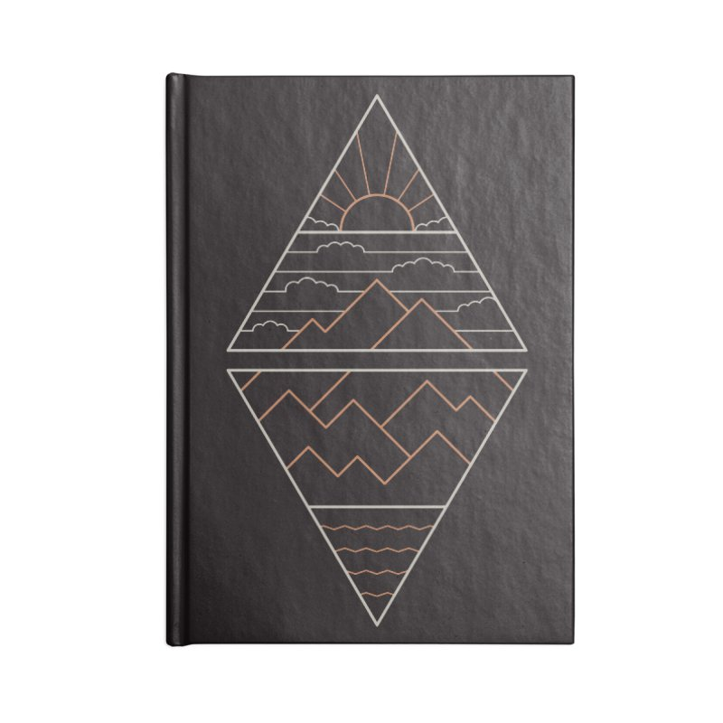 Earth, Air, Fire & Water Accessories Lined Journal Notebook by thepapercrane's shop