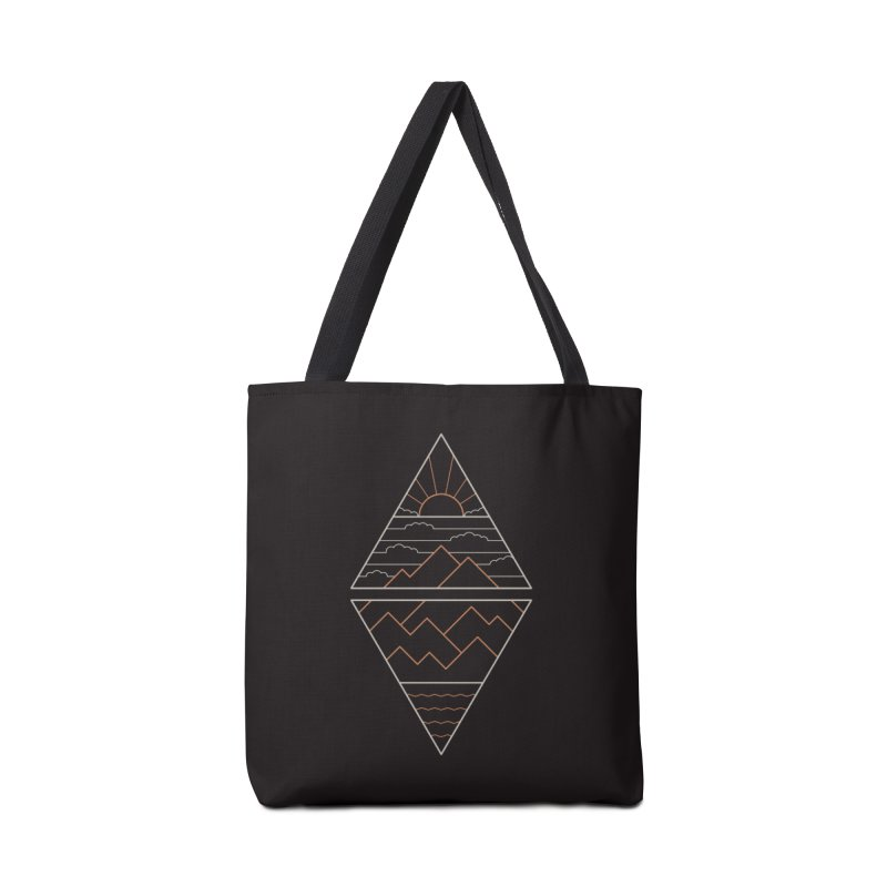 Earth, Air, Fire & Water Accessories Tote Bag Bag by thepapercrane's shop
