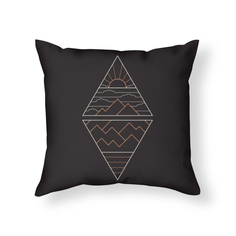 Earth, Air, Fire & Water Home Throw Pillow by thepapercrane's shop