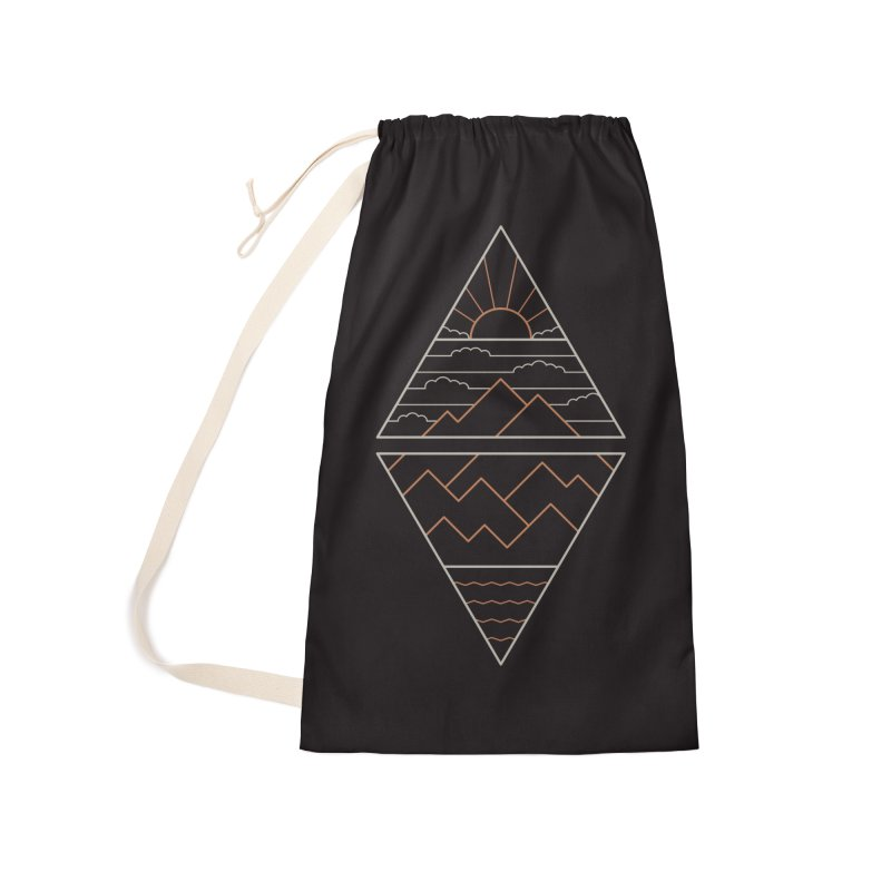 Earth, Air, Fire & Water Accessories Laundry Bag Bag by thepapercrane's shop