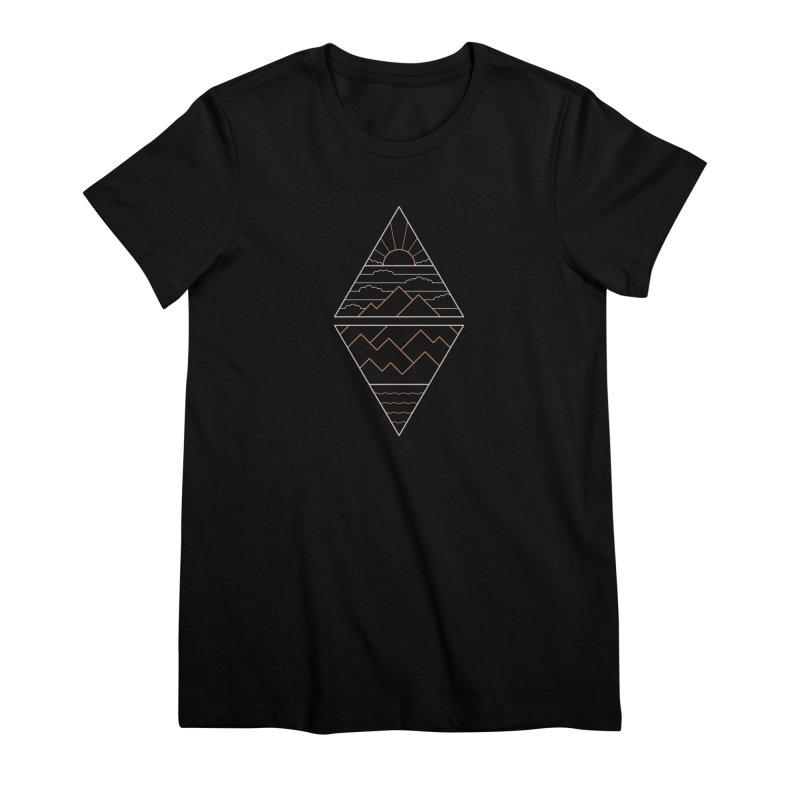 Earth, Air, Fire & Water Women's Premium T-Shirt by thepapercrane's shop