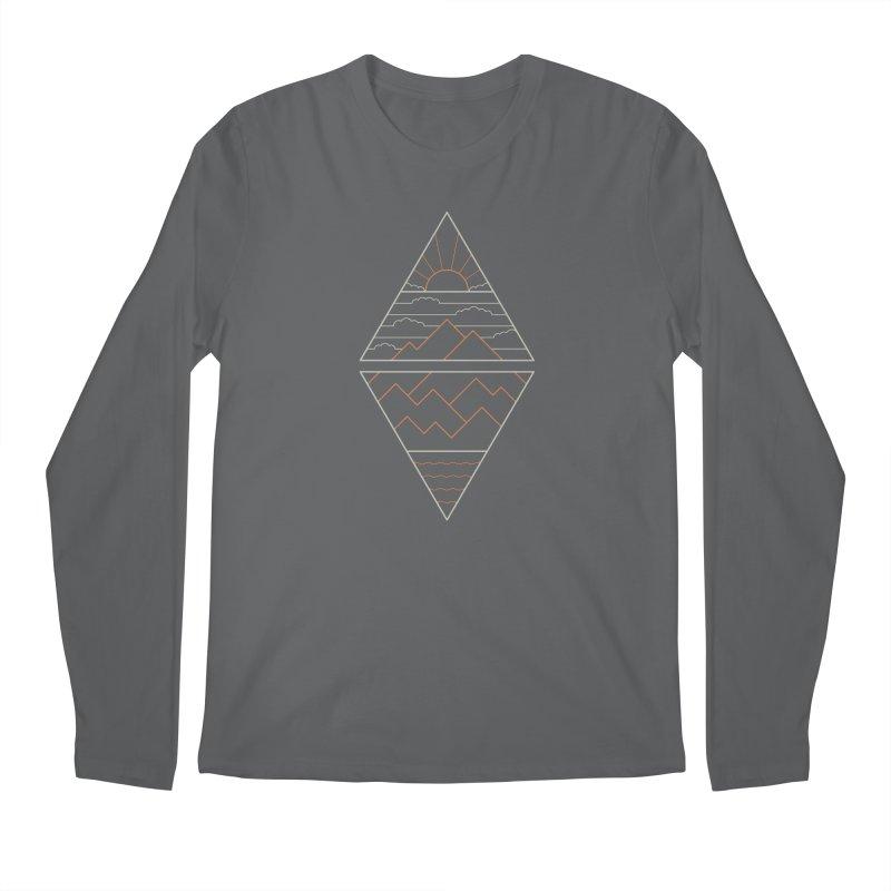 Earth, Air, Fire & Water Men's Longsleeve T-Shirt by thepapercrane's shop