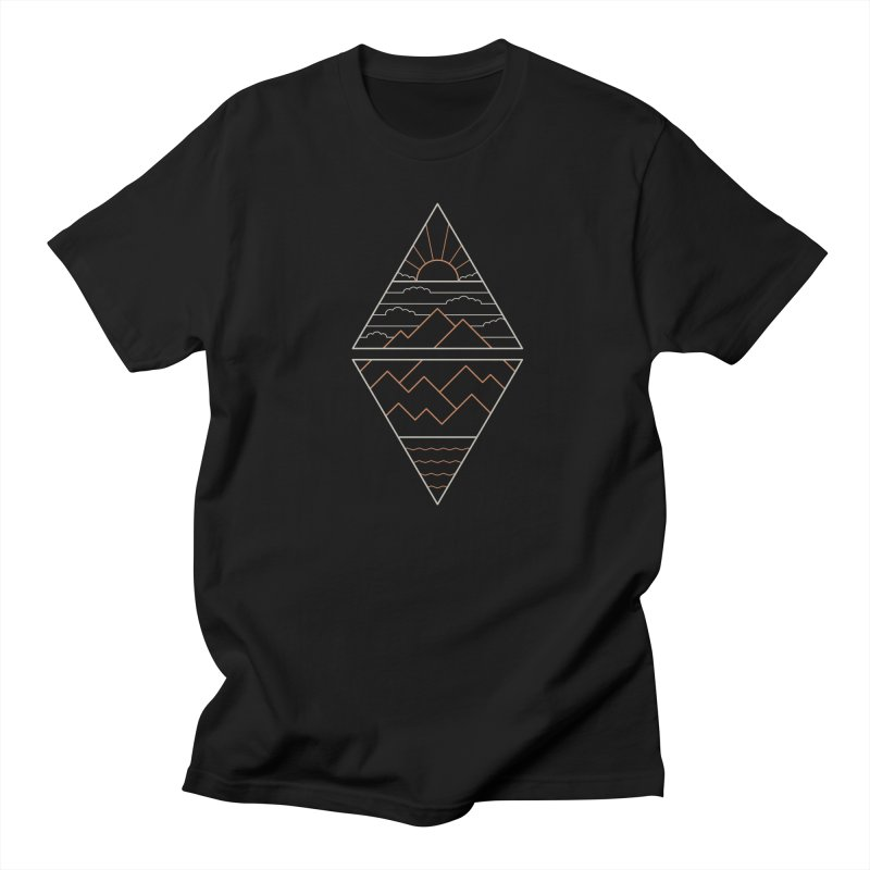 Earth, Air, Fire & Water Men's Regular T-Shirt by thepapercrane's shop