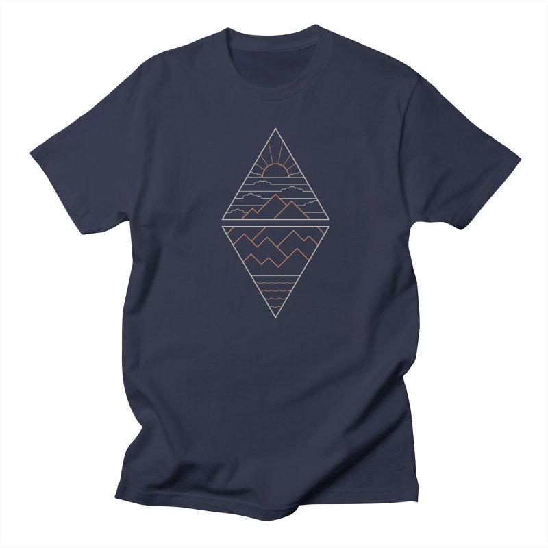 Earth, Air, Fire & Water Men's Regular T-Shirt by thepapercrane's shop