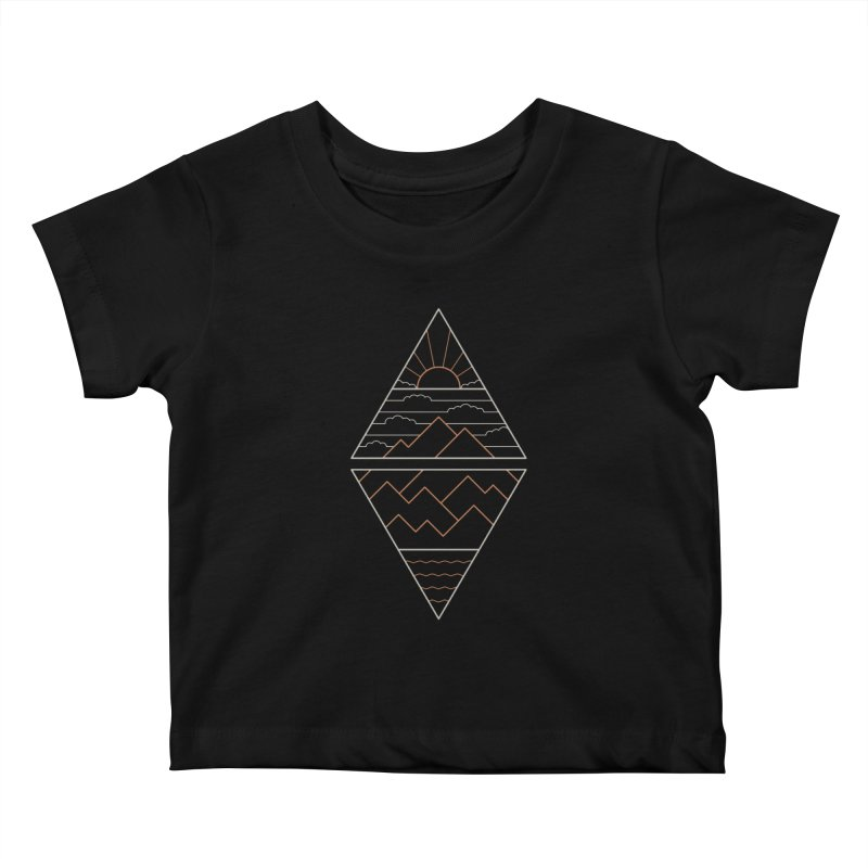 Earth, Air, Fire & Water Kids Baby T-Shirt by thepapercrane's shop
