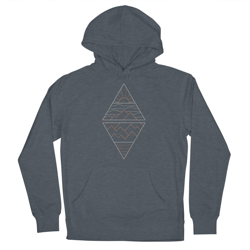 Earth, Air, Fire & Water Women's French Terry Pullover Hoody by thepapercrane's shop