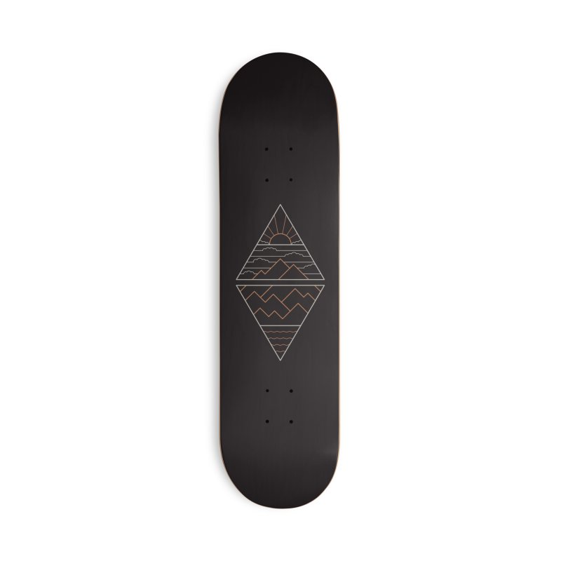 Earth, Air, Fire & Water Accessories Deck Only Skateboard by thepapercrane's shop