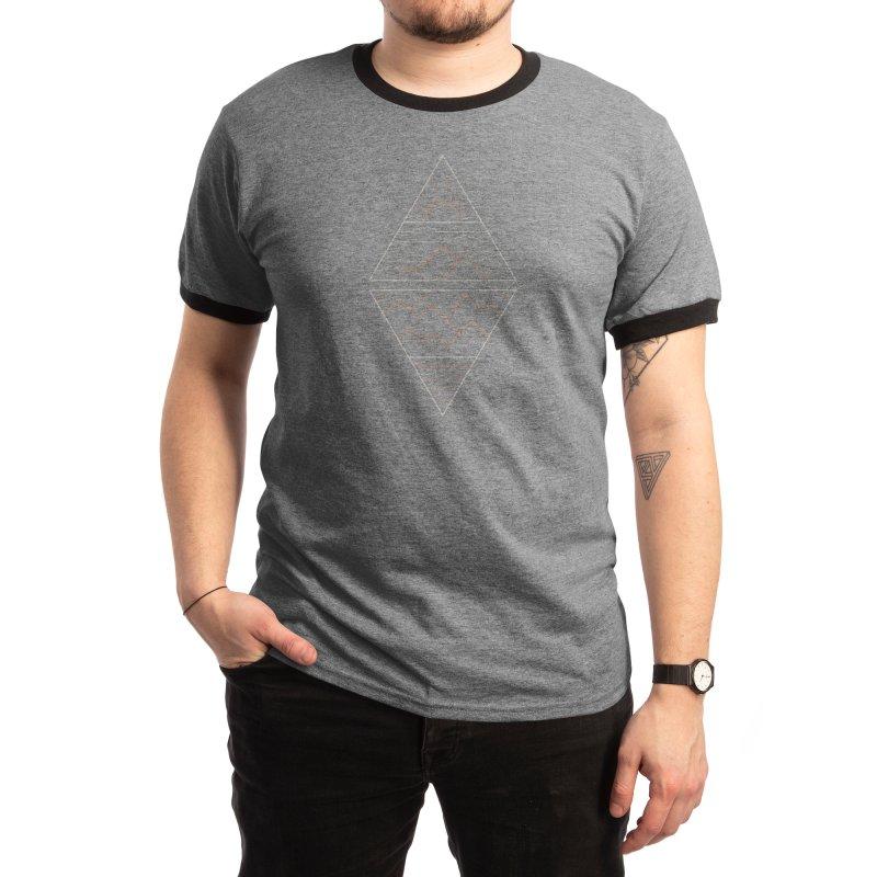 Earth, Air, Fire & Water Men's T-Shirt by thepapercrane's shop