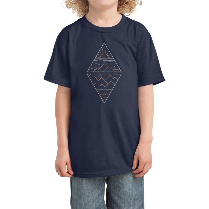 Earth, Air, Fire & Water Kids T-Shirt by thepapercrane's shop