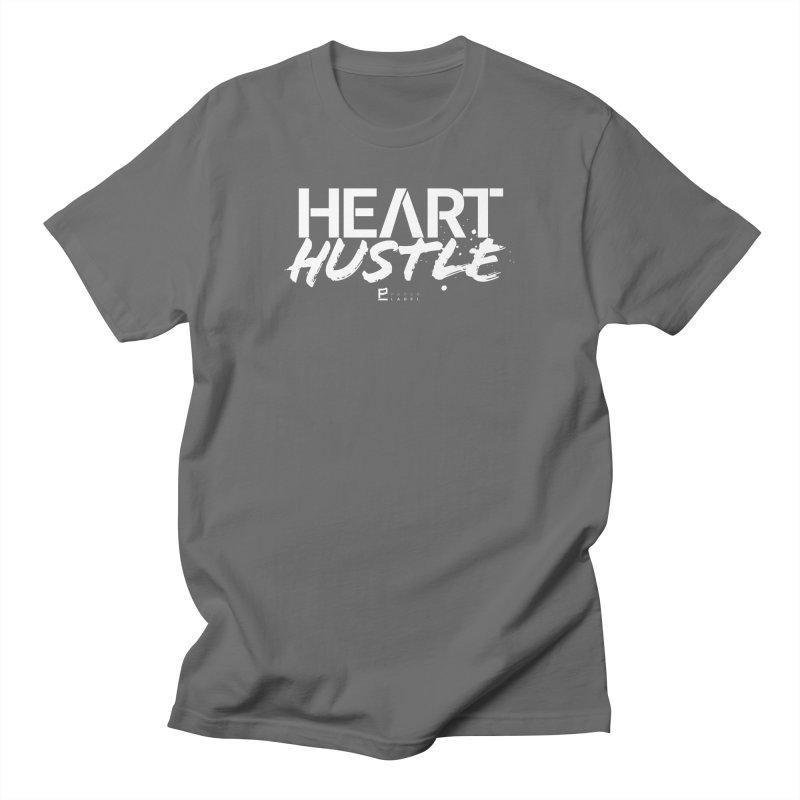 HEART + HUSTLE Men's T-Shirt by Paper Label Gear
