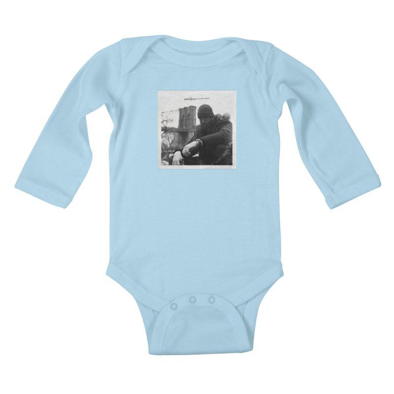 TLOP COVER ART Kids Baby Longsleeve Bodysuit by Paper Label Gear