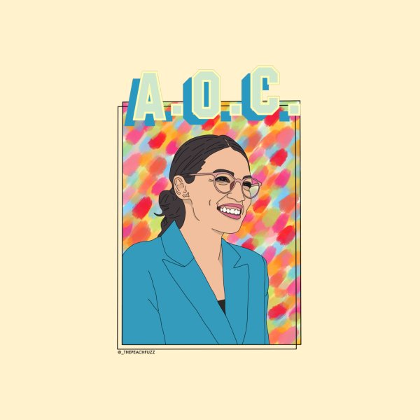 image for AOC is A-OK - The Peach Fuzz