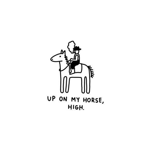 image for Up On My Horse, High - The Peach Fuzz