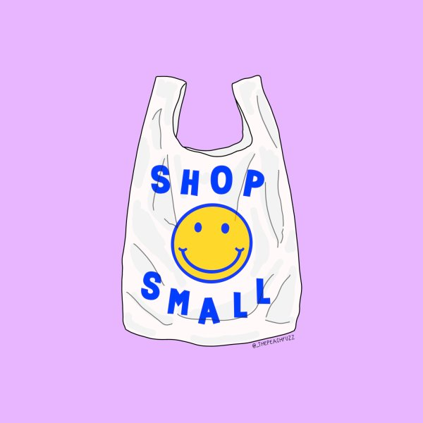 Design for Shop Small - The Peach Fuzz