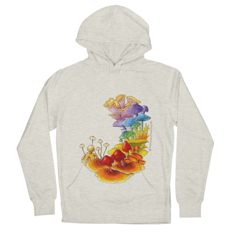 Pride of Fungus Men's French Terry Pullover Hoody by The Pen And The Pangolin