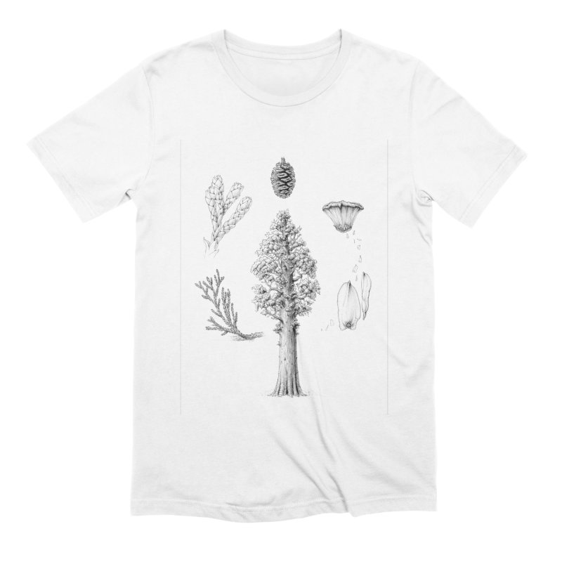 Giant Sequoia Men's Extra Soft T-Shirt by The Pen And The Pangolin