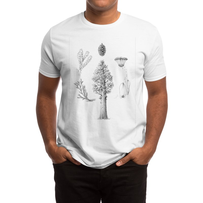 Giant Sequoia Men's T-Shirt by The Pen And The Pangolin
