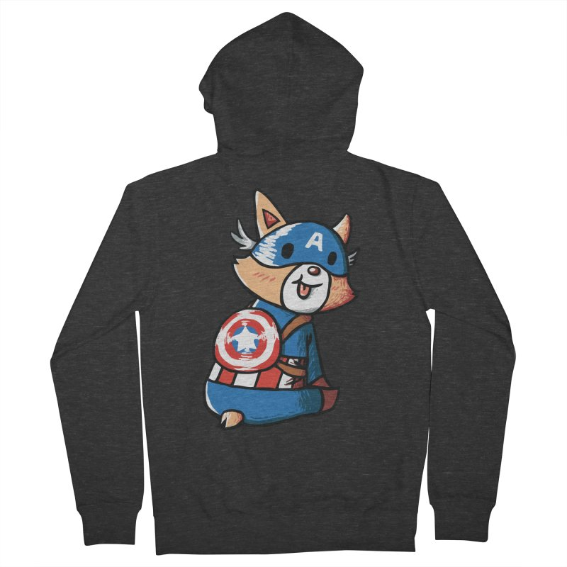 Captain Corgi Women's Zip-Up Hoody by La La Lune