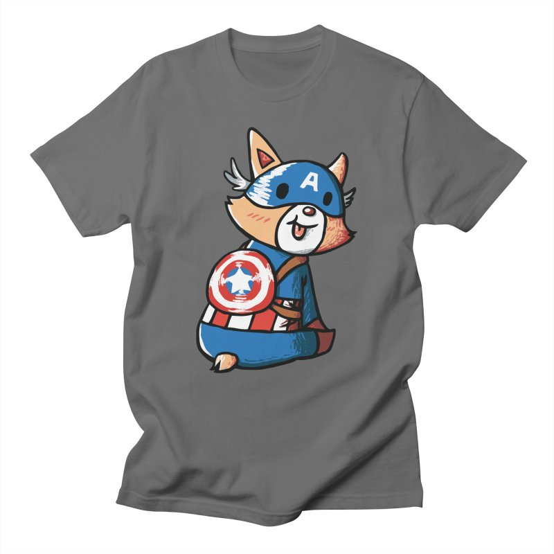 Captain Corgi Men's T-shirt by La La Lune
