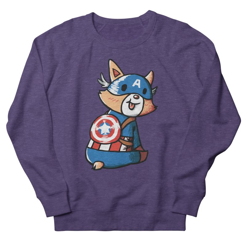 Captain Corgi Women's Sweatshirt by La La Lune