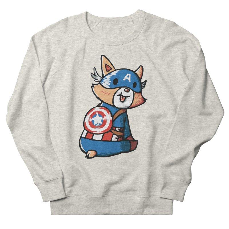 Captain Corgi Men's Sweatshirt by La La Lune