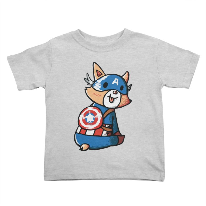 Captain Corgi Kids Toddler T-Shirt by La La Lune