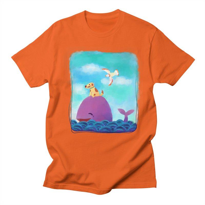 The Adventure Men's T-shirt by La La Lune