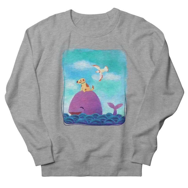 The Adventure Men's Sweatshirt by La La Lune