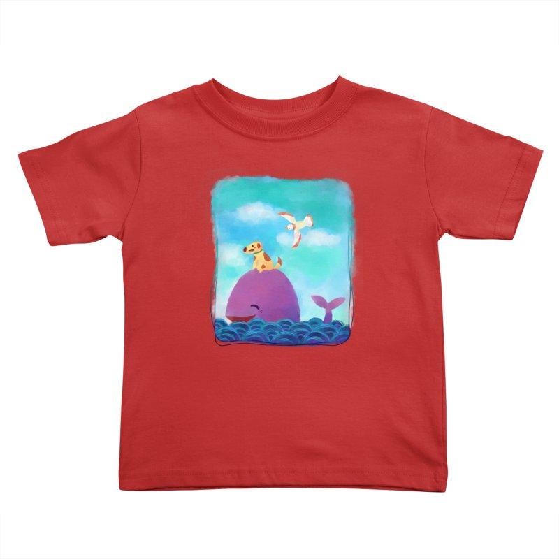 The Adventure Kids Toddler T-Shirt by La La Lune