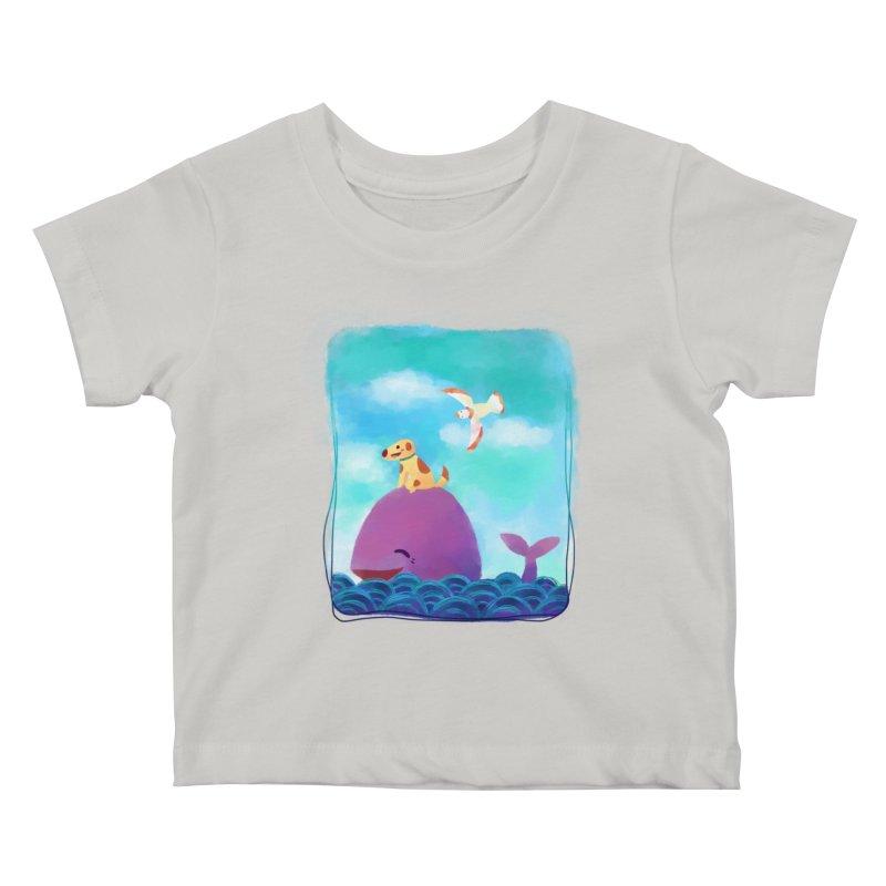 The Adventure Kids Baby T-Shirt by La La Lune