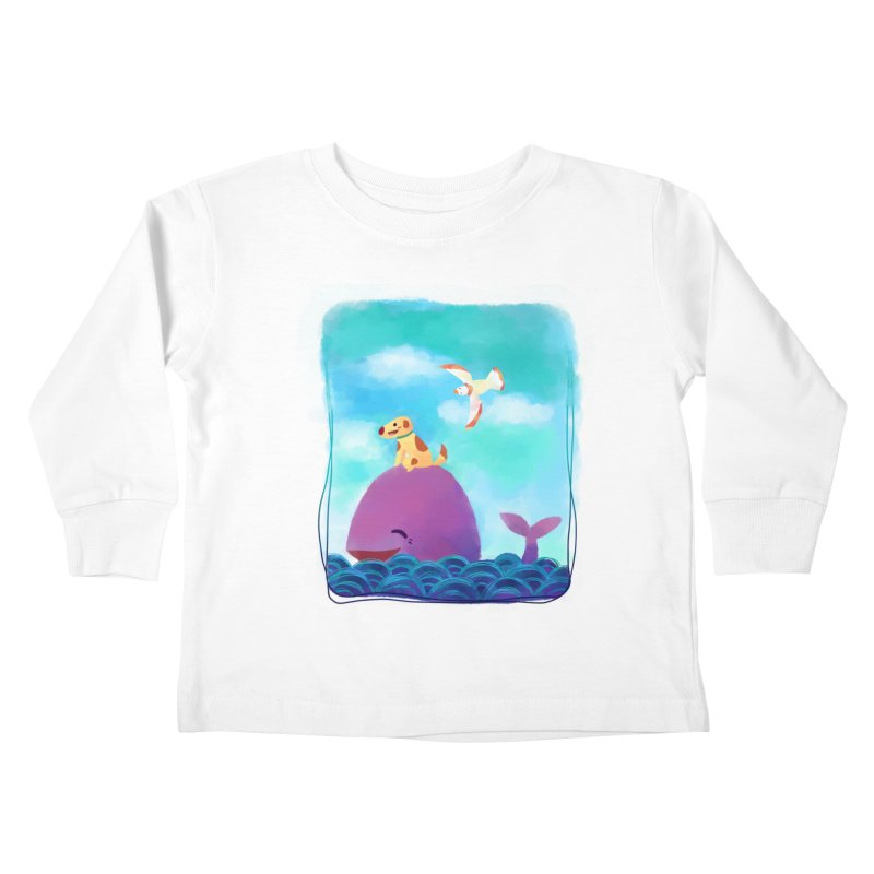 The Adventure Kids Toddler Longsleeve T-Shirt by La La Lune