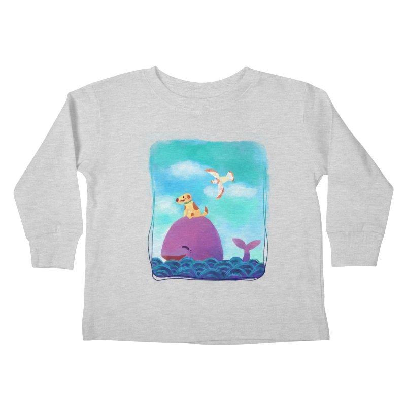 The Adventure Kids Toddler Longsleeve T-Shirt by La La Lune